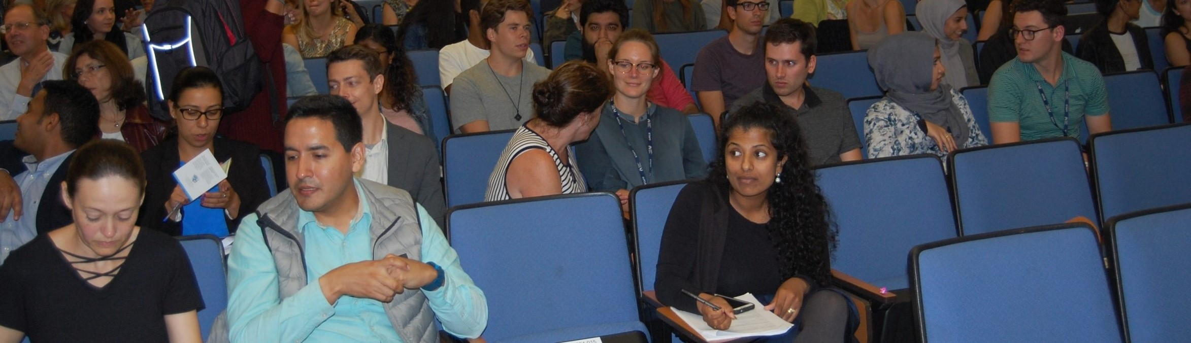 Lecture audience