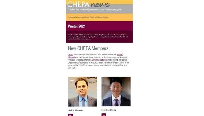 CHEPA News - winter 2021